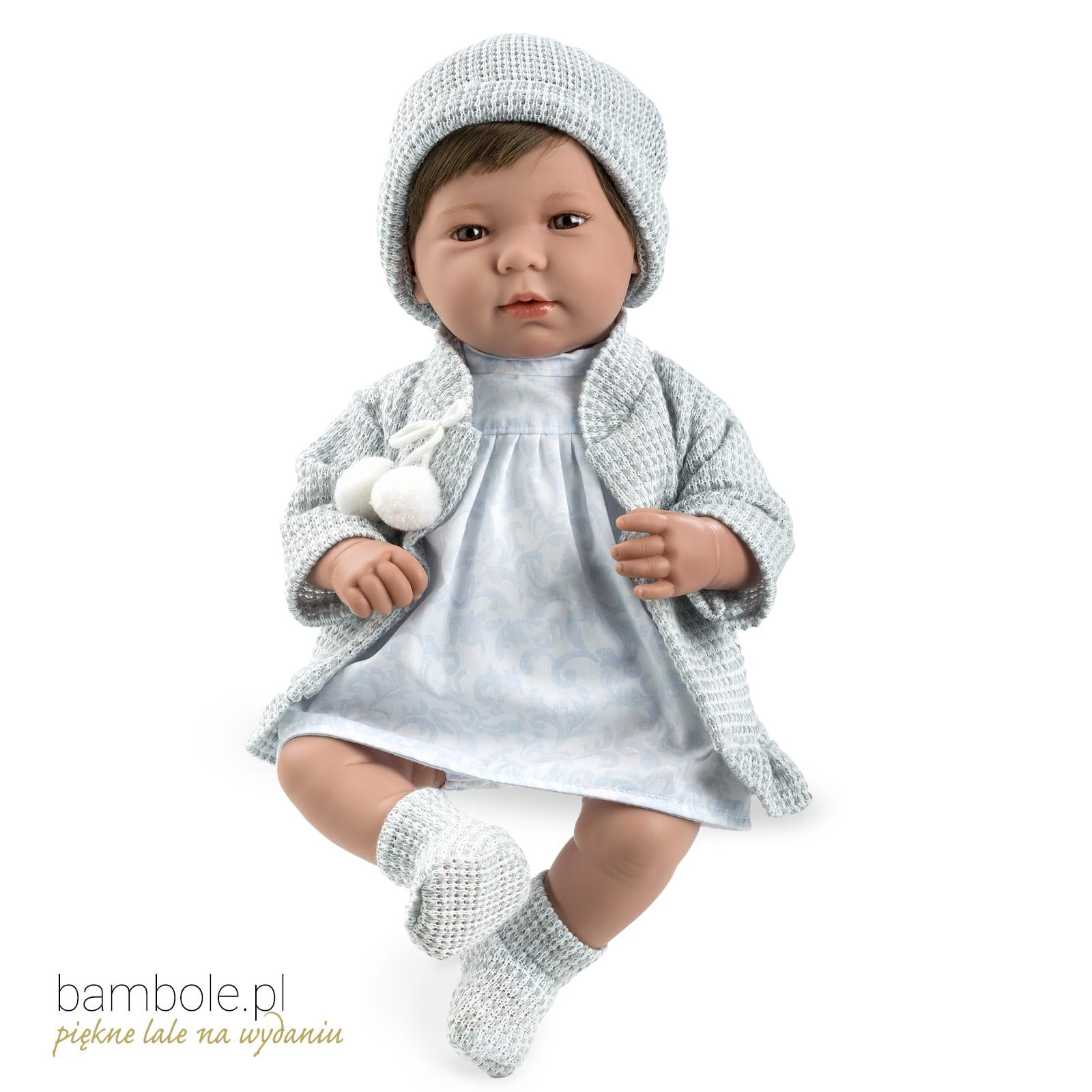 Puppe Arias Elegance Lois 65179 45 Cm Baby Mit Haaren Bambolepl